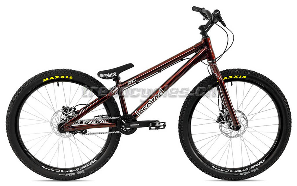 Bike Inspired Hex Pro 26 U0026quot  2019 Metallic Dark Red